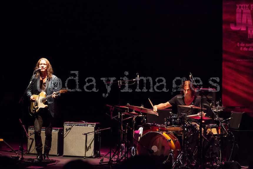 """Robben Ford Band performing for the """"Jazz festival of Madrid"""""""