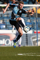 Jason McCarthy of Wycombe Wanderers during the Sky Bet League 2 match between Wycombe Wanderers and Mansfield Town at Adams Park, High Wycombe, England on 25 March 2016. Photo by David Horn.