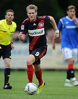FUSSBALL   1. BUNDESLIGA   SAISON 2011/2012   TESTSPIEL Bayer 04 Leverkusen - Rangers FC                       13.07.2011 Andre SCHUERRLE (Bayer 04 Leverkusen) Einzelaktion am Ball