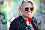 © Joel Goodman - 07973 332324. 05/08/2017 . Macclesfield , UK . KIM WILDE at the Rewind Festival , celebrating 1980s music and culture , at Capesthorne Hall in Siddington . Photo credit : Joel Goodman