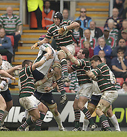 Leicester, ENGLAND.  Ben Kay, Guinness Premiership Semi-Final. Leicester Tigers vs London Irish, at Welford Road, 05.2006. © Peter Spurrier/Intersport-images.com,  / Mobile +44 [0] 7973 819 551 / email images@intersport-images.com.   [Mandatory Credit, Peter Spurier/ Intersport Images].14.05.2006