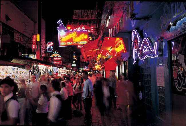 Patpong red light district in Bangkok, Thailand