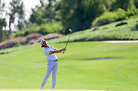 Tommy Fleetwood (ENG) on the 13th fairway during the 2nd round of the Abu Dhabi HSBC Championship, Abu Dhabi Golf Club, Abu Dhabi,  United Arab Emirates. 17/01/2020<br /> Picture: Fran Caffrey   Golffile<br /> <br /> <br /> All photo usage must carry mandatory copyright credit (© Golffile   Fran Caffrey)