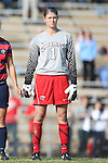 16 November 2013: Liberty's Holly Van Noord. The University of North Carolina Tar Heels hosted the Liberty University Flames at Fetzer Field in Chapel Hill, NC in a 2013 NCAA Division I Women's Soccer Tournament First Round match. North Carolina won the game 4-0.