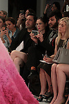 Super model Coco Rocha watches the Christian Siriano for Kleinfeld bridal collection fashion show, at Kleinfeld on April 18, 2016 during New York Bridal Fashion Week Spring Summer 2017.