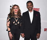 NORTH HOLLYWOOD - NOVEMBER 3: Tina Knowles and Richard Lawson at the WACO Theater Opening Night Reception at WACO Theater on November 3, 2017 in North Hollywood, California. (Photo by Scott Kirkland/PictureGroup)