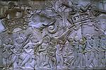 Bas Relief at Angkor Thom - elephant