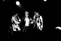 Montreal (QC) CANADA - 1985  File Photo  - Lundis des Haha , held at Club Soda on Park Avenue - Normand Brathwaite