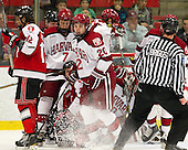 Johnny Rogic (RPI - 12), Danny Fick (Harvard - 7), Ryan McGregor (Harvard - 20) - The Harvard University Crimson defeated the visiting Rensselaer Polytechnic Institute Engineers 4-0 (EN) on Saturday, November 10, 2012, at Bright Hockey Center in Boston, Massachusetts.