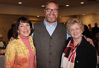 NWA Democrat-Gazette/CARIN SCHOPPMEYER Kathy McFetridge, Jacob Hayward and Marsha Jones enjoy 5x5.