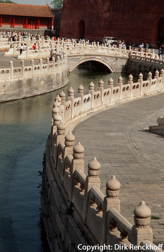 China, Kaiserpalast von Peking, Goldwasserfluss; Unesco-Weltkulturerbe