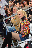 Gwen Stafani at the Hollywood Walk of Fame Star Ceremony honoring singer Adam Levine. Los Angeles, USA 10 February  2017<br /> Picture: Paul Smith/Featureflash/SilverHub 0208 004 5359 sales@silverhubmedia.com