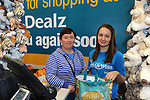 FREE PIC - NO REPRO FEE<br /> 24/09/2015 - Blackpool, Cork<br /> Sylvia Sorenson from Farranree, Cork making a purchase from staff member Sarah McCarthy at the official opening of the new Dealz store at Blackpool Retail Park, Cork.<br /> Pic: Brian Lougheed