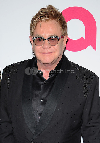 New York,NY- October 28: Elton John attends the Elton John AIDS Foundation's 13th Annual An Enduring Vision Benefit at Cipriani Wall Street on October 28, 2014 in New York City In New York City on October 27, 2014 . Credit: John Palmer/MediaPunch