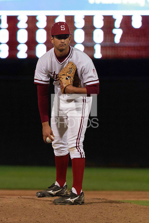 STANFORD, CA-March 29, 2011:  Stanford player Sahil Bloom in a game against St. Mary's College at Stanford.  Stanford won the game 16-14.