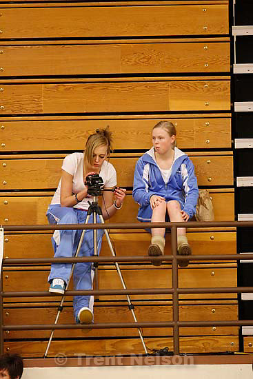 Woods Cross vs. Sky View high school girls basketball, Wednesday, December 16, 2009 at Woods Cross. fans
