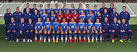 Carson, Ca - Friday, May 15, 2015: The USWNT official WWC 2015 Team Photo.