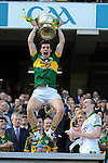Tomas O&quot;Se dances a jig as he celebrates his team's victory over Donegal in the All-Ireland Football Final  in Croke Park 2014.<br /> Photo: Don MacMonagle<br /> <br /> <br /> Photo: Don MacMonagle <br /> e: info@macmonagle.com