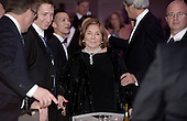 Teresa Heinz Kerry smiles during the White House Correspondents' Association annual dinner on April 30, 2016 at the Washington Hilton hotel in Washington. This is President Obama's eighth and final White House Correspondents' Association dinner.<br /> Credit: Olivier Douliery / Pool via CNP