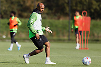 Andre Ayew of Swansea City in action during the Swansea City Training Session at The Fairwood Training Ground in Swansea, Wales, UK. Wednesday 16 October 2019