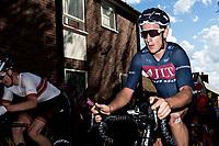 Picture by Alex Whitehead/SWpix.com - 14/05/2017 - Cycling - 2017 HSBC UK   Spring Cup Road Series - Lincoln Grand Prix - JLT Condor's Alex Frame climbs Michaelgate cobbles.