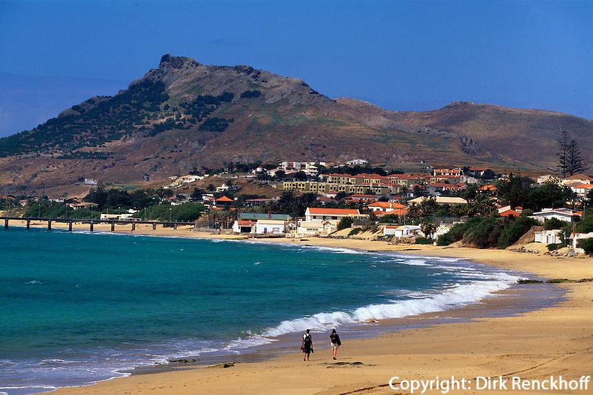 Portugal, Porto Santo, Strand von Vila Baleira