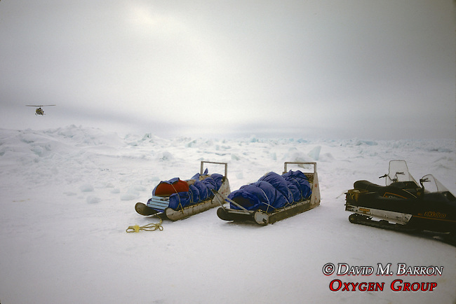 Packed Gear During Rescue From Broken Off Floating Ice Sheet