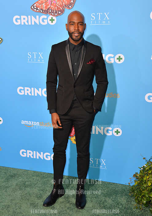 Karamo Brown at the world premiere for &quot;Gringo&quot; at the L.A. Live Regal Cinemas, Los Angeles, USA 06 March 2018<br /> Picture: Paul Smith/Featureflash/SilverHub 0208 004 5359 sales@silverhubmedia.com