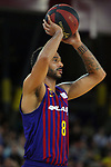 League ACB-ENDESA 201/2019.Game 38.<br /> PlayOff Semifinals.1st match.<br /> FC Barcelona Lassa vs Tecnyconta Zaragoza: 101-59.<br /> Adam Hanga.
