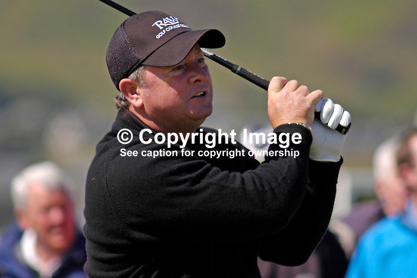 Ian Woosnam, professional, golfer, Irish Seniors Open, Ballyliffin Old Course, Co Donegal, Ireland, 200806207849..Copyright Image from Victor Patterson, 54 Dorchester Park, Belfast, UK, BT9 6RJ..Tel: +44 28 9066 1296.Mob: +44 7802 353836.Voicemail +44 20 8816 7153.Skype: victorpattersonbelfast.Email: victorpatterson@mac.com.Email: victorpatterson@ireland.com (back-up)..IMPORTANT: If you wish to use this image or any other of my images please go to www.victorpatterson.com and click on the Terms & Conditions. Then contact me by email or phone with the reference number(s) of the image(s) concerned.