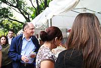 SAO PAULO, SP, 12 DE MAIO DE 2012 - O Gobernador Geraldo Alckmin participa neste sábado 12 de maio, da VII Feira de Saúde Mental e Economia Solidária, no  Parque Mario Covas, na Av Paulista, SP. (FOTO: GEORGINA GARCIA / BRAZIL PHOTO PRESS).