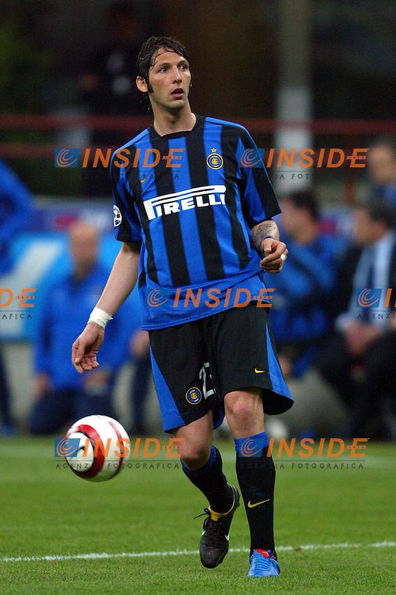Milano 4/4/2004 Campionato Italiano Serie A 28a Giornata - Matchday 28<br /> Inter Juventus<br /> Marco Materazzi (Inter)<br /> Foto Andrea Staccioli Insidefoto
