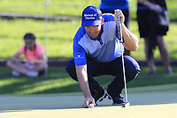Padraig Harrington (IRL) on the 17th green during Thursday's Round 1 of the 2018 Turkish Airlines Open hosted by Regnum Carya Golf &amp; Spa Resort, Antalya, Turkey. 1st November 2018.<br /> Picture: Eoin Clarke | Golffile<br /> <br /> <br /> All photos usage must carry mandatory copyright credit (&copy; Golffile | Eoin Clarke)