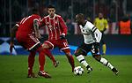 20.02.2018, Allianz Arena, M&uuml;nchen, GER, UEFA CL, FC Bayern M&uuml;nchen (GER) vs Besiktas Istanbul (TR) , im Bild<br />J&eacute;r&ocirc;me Boateng (M&uuml;nchen), James Rodriguez (M&uuml;nchen), Vagner Love (Instanbul)<br /><br /><br /> Foto &copy; nordphoto / Bratic