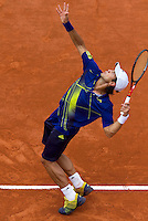 31-05-10, Tennis, France, Paris, Roland Garros,  Fernando Verdasco