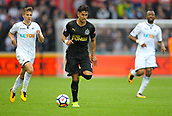 10th September 2017, Liberty Stadium, Swansea, Wales; EPL Premier League football, Swansea versus Newcastle United; Ayoze Perez of Newcastle United in action during the match