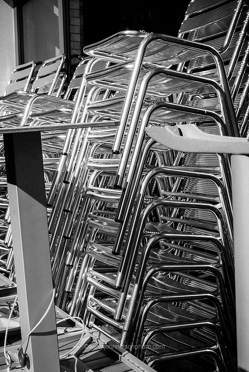 Stacked Chairs, Chinatown, Washington, DC