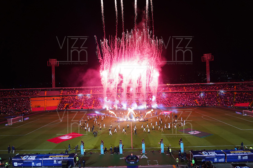 BOGOTÁ - COLOMBIA, 11-01-2019:Inauguración del Torneo Fox Sports 2019  en el estadio Nemesio Camacho El Campín de la ciudad de Bogotá. /Inauguration Fox Sport Tournament 2019 at the Nemesio Camacho El Campin Stadium in Bogota city. Photo: VizzorImage /Diego Cuevas  / Contribuidor