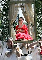 Natale di Roma: parata promossa dal Gruppo Storico Romano a Roma, 20 aprile 2008, in occasione delle celebrazioni per il 2761esimo anniversario della Fondazione di Roma..Parade promoted by the Gruppo Storico Romano (Historical Roman Group) in downtown Rome, 20 april 2008, in occasion of the commemoration for the 2761st anniversary of Rome's Foundation..UPDATE IMAGES PRESS/Riccardo De Luca