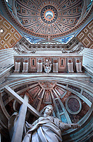 St Peter's Basilica at the Vatican  particularly      ...