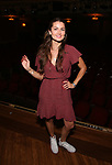 "Rachel Matthews from the cast of ""Riverdale"" visits Broadway's ""Bandstand"" at the Bernard Jacobs Theate on May 19, 2017 in New York City."