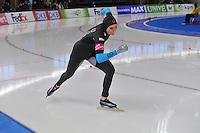 SCHAATSEN: BERLIJN: Sportforum, 07-12-2013, Essent ISU World Cup, 500m Ladies Division A, Heather Richardson (USA), ©foto Martin de Jong