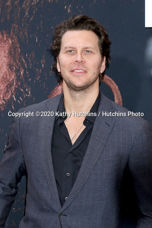 LOS ANGELES - MAR 1:  Hayes MacArthur at the The Way Back Premiere at the Regal LA Live on March 1, 2020 in Los Angeles, CA