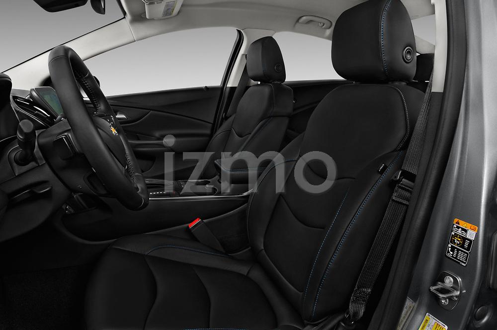Front seat view of 2016 Chevrolet Volt Premier 5 Door Hatchback Front Seat  car photos