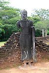 Pabula Vihara temple, UNESCO World Heritage Site, the ancient city of Polonnaruwa, Sri Lanka, Asia standing Buddha statue figure