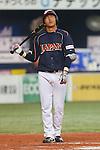 Hisayoshi Chono (JPN), .February 26, 2013 - WBC : .2013 World Baseball Classic, Exhibithion Game .match between Japan 0-1 Hanshin Tigers  .at Kyocera Dome, Osaka, Japan..(Photo by AJPS/AFLO SPORT)