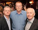 Ciaran O'hAnrachain, Letterkenny IT, Niall O'Shea, Hugh Jordans and Adrian Gregan Cork IT, at the Irish Hotels Federation Conference 'President's Dine Around' event in The  Killarney Park Hotel  on Monday  night. Picture: MacMonagle, Killarney