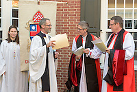 Gathering for Procession. A Service of Evensong Together with the Conferral of Honorary Degrees. 20 October 2015. Berkeley Divinity School at Yale University.