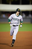 Siena Saints center fielder Dan Swain (22) during a game against the UCF Knights on February 17, 2017 at UCF Baseball Complex in Orlando, Florida.  UCF defeated Siena 17-6.  (Mike Janes/Four Seam Images)