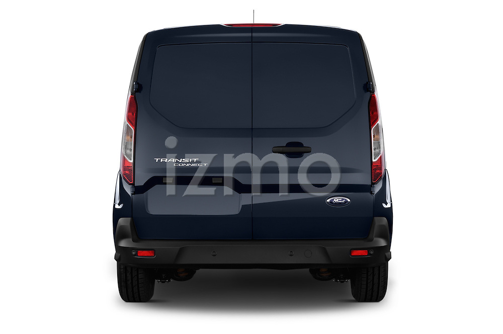Straight rear view of a 2014 Ford Transit Connect Trend 5 Door Minivan 2WD